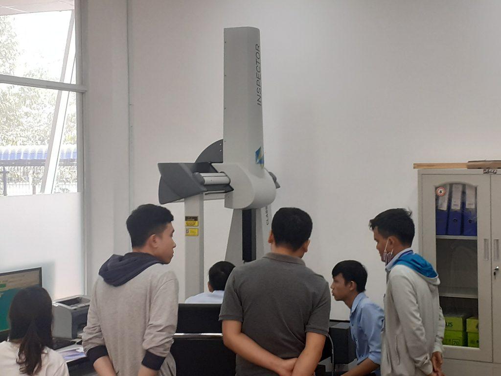 Đào tạo sử dụng máy đo 3D