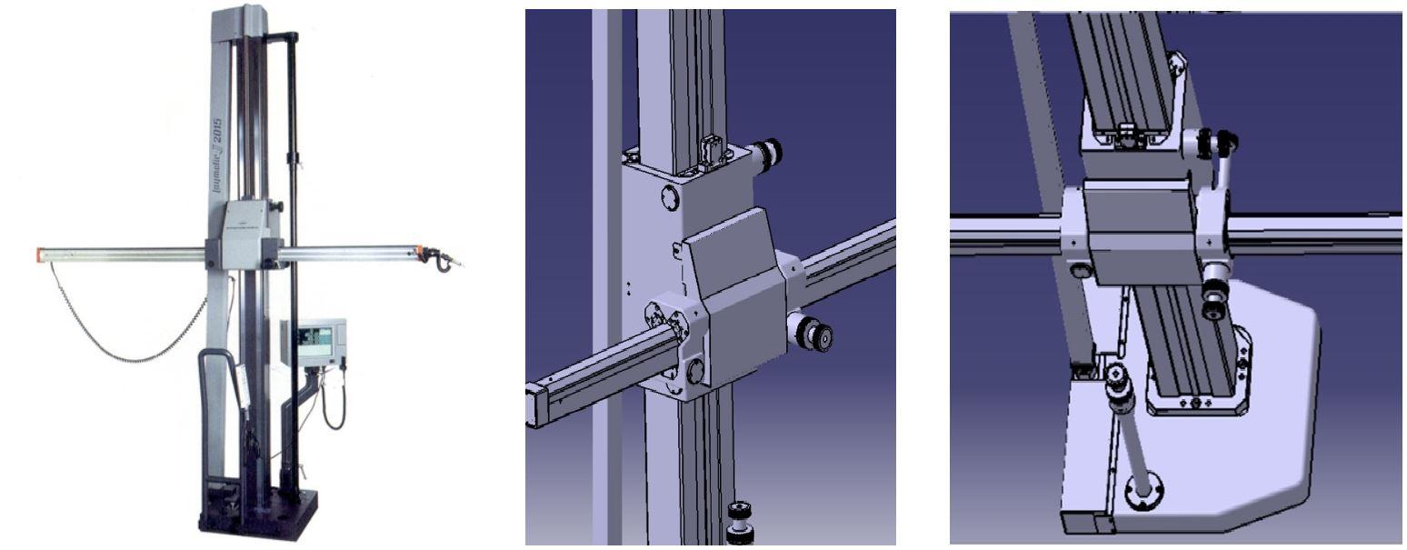 Cấu trúc máy đo Layout M C