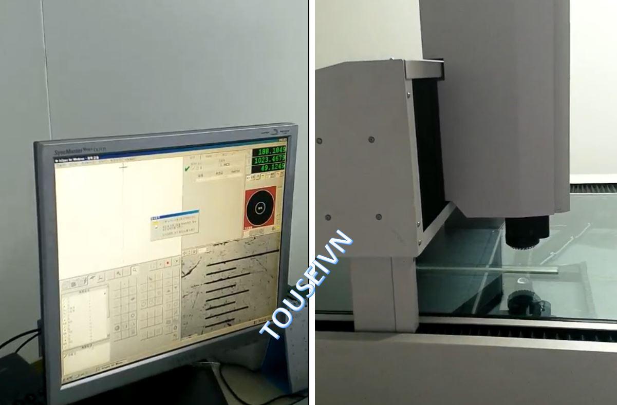 Quá trình hiệu chuẩn máy đo 3D Micro Vu Excel5120