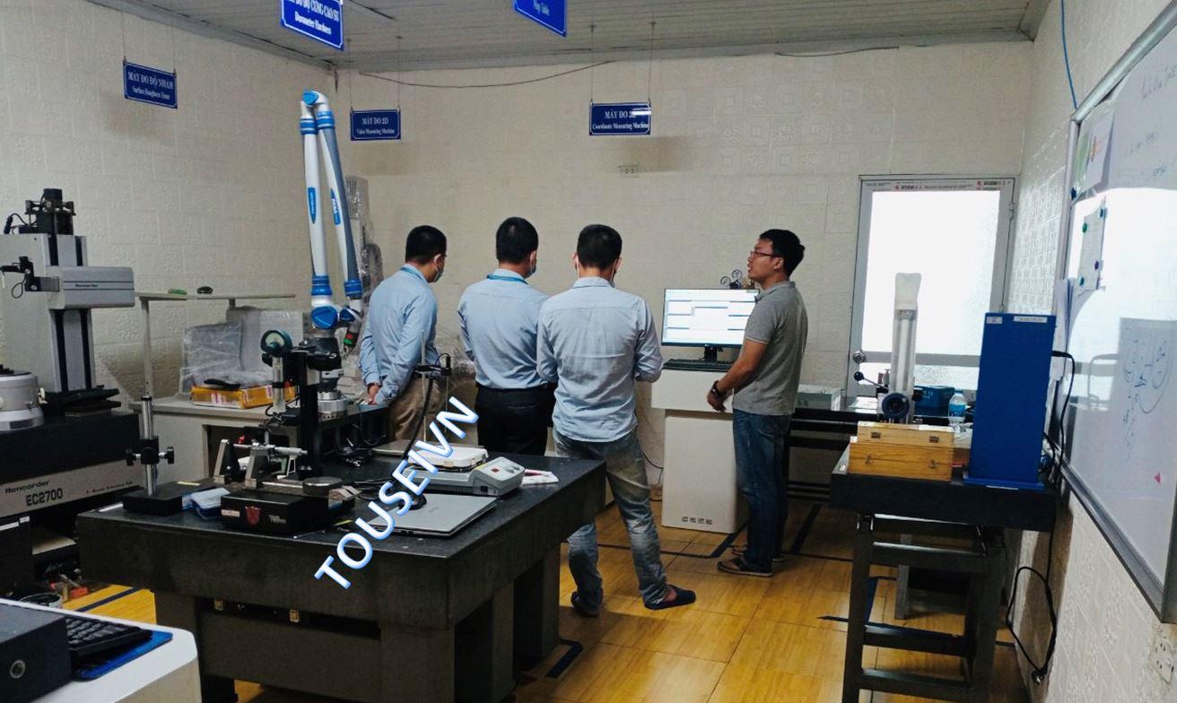 Đào tạo sử dụng máy phân tích vật liệu CX-9500 Spectrometer của GLMY