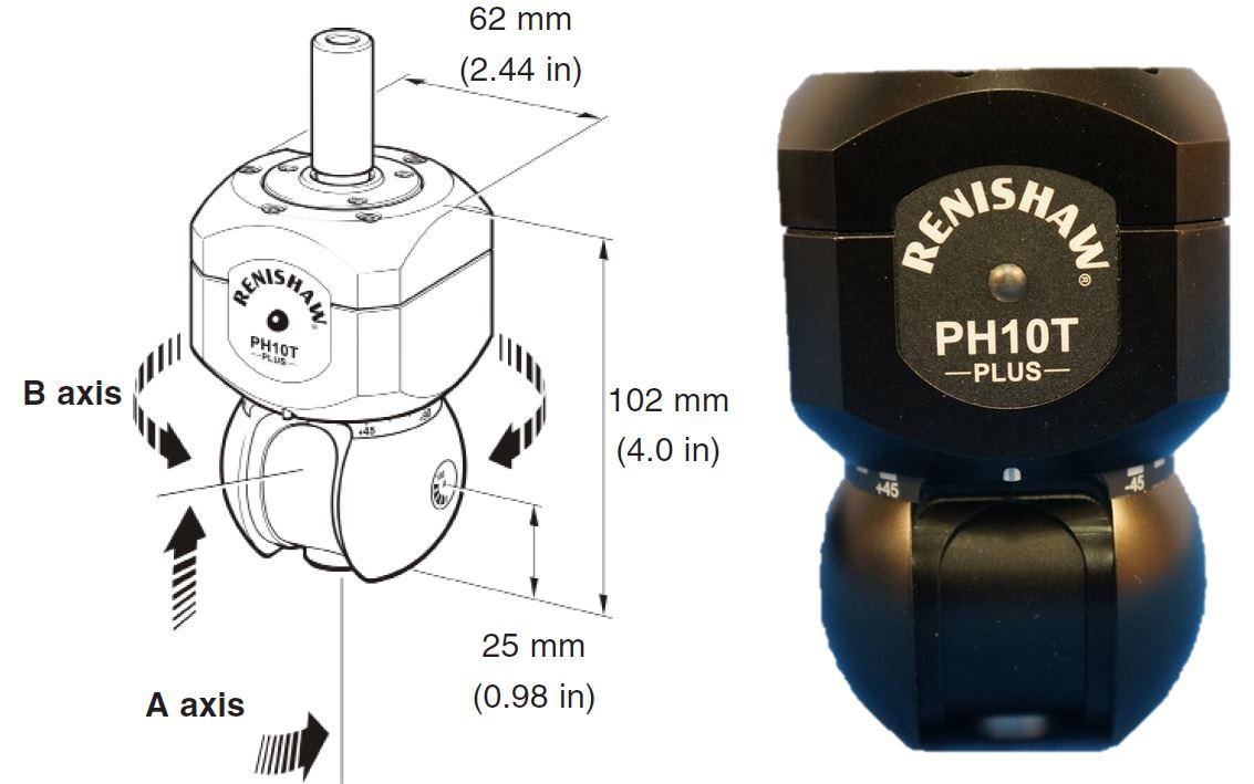 Đầu đo máy đo 3D - Renishaw PH10T Plus Probe head