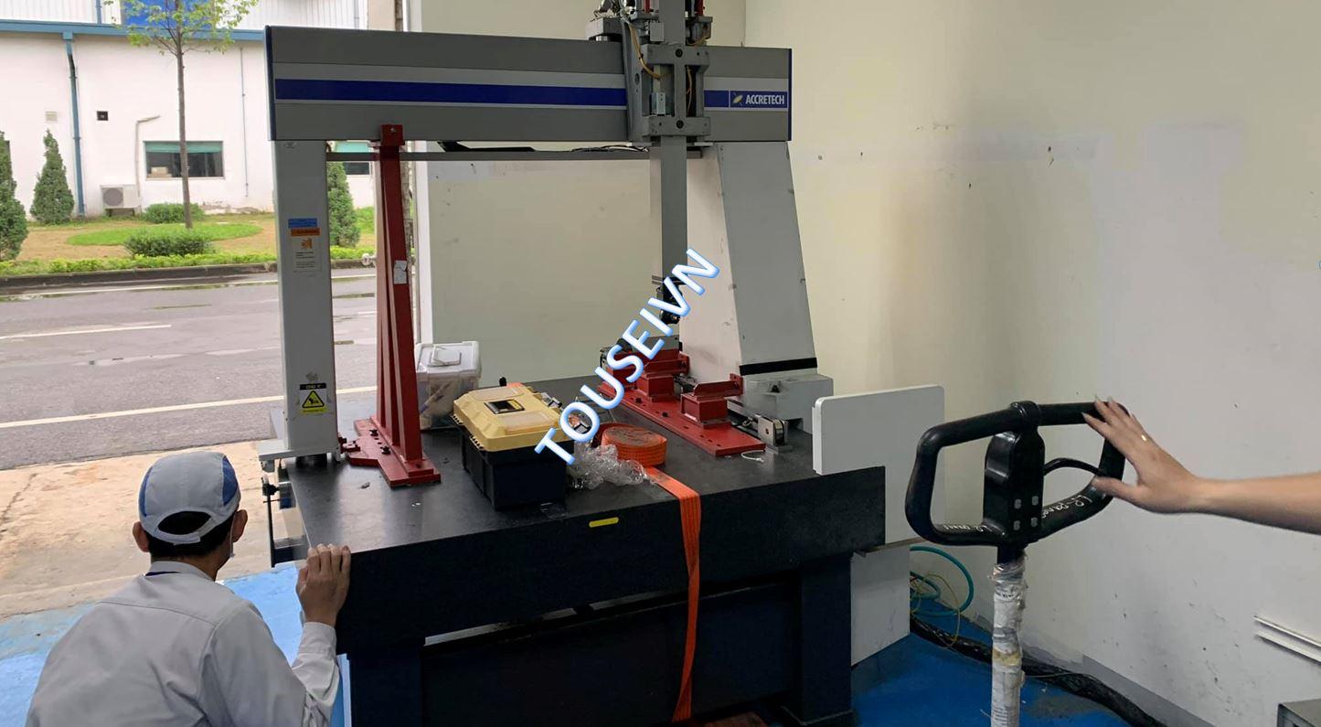 Di dời – Lắp đặt máy đo CMM – Coordinate Measuring Machine