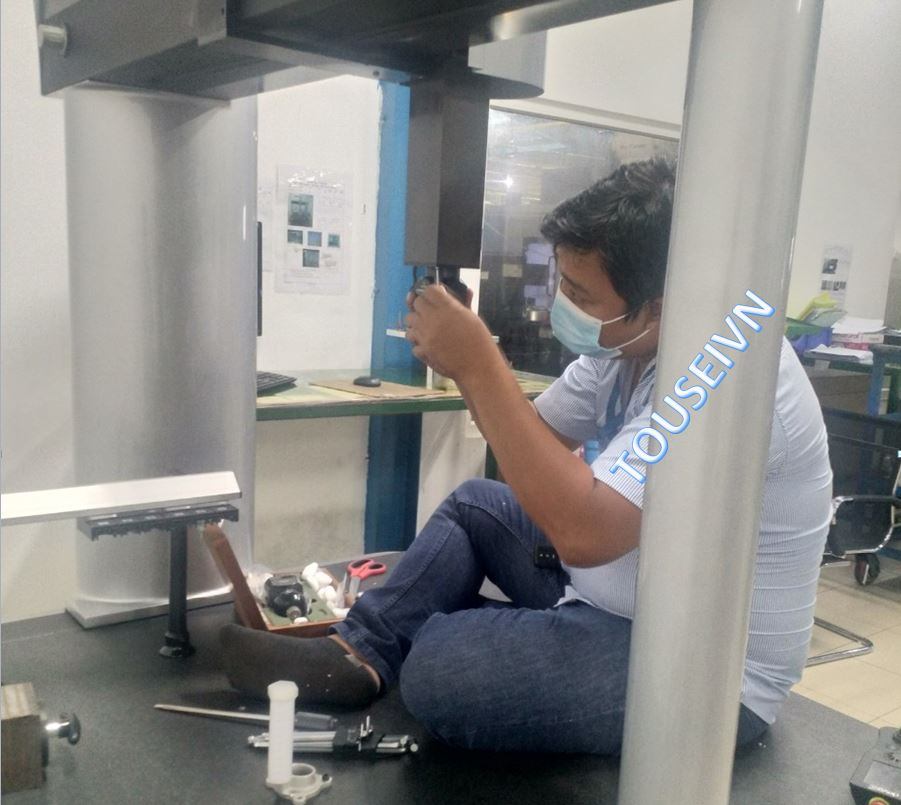 Touseivn Lắp đặt đầu đo PH10T bàn giao đến khách hàng