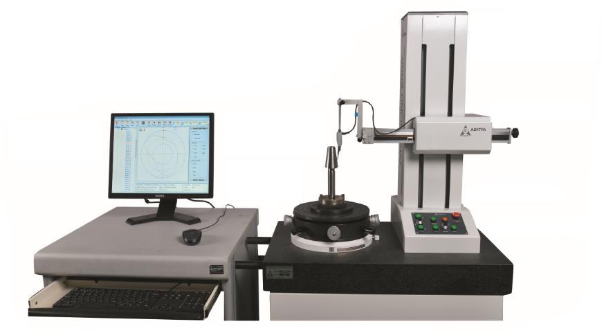 Hiệu chuẩn máy đo độ tròn Preciround 2000Plus