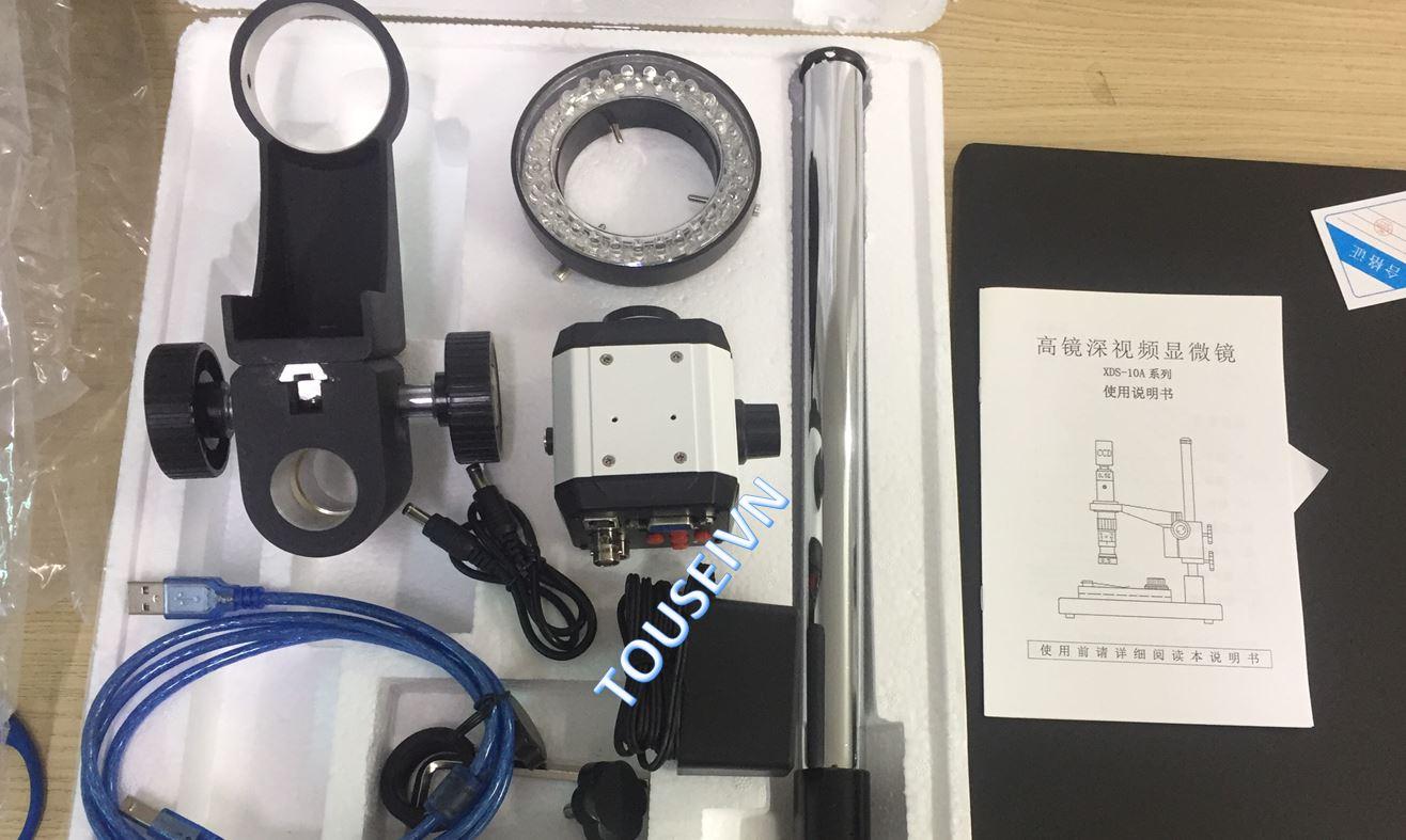 Bán mới - Hiệu chuẩn thiết bị Kính hiển vi soi nổi SDX-10A Renyue 200W