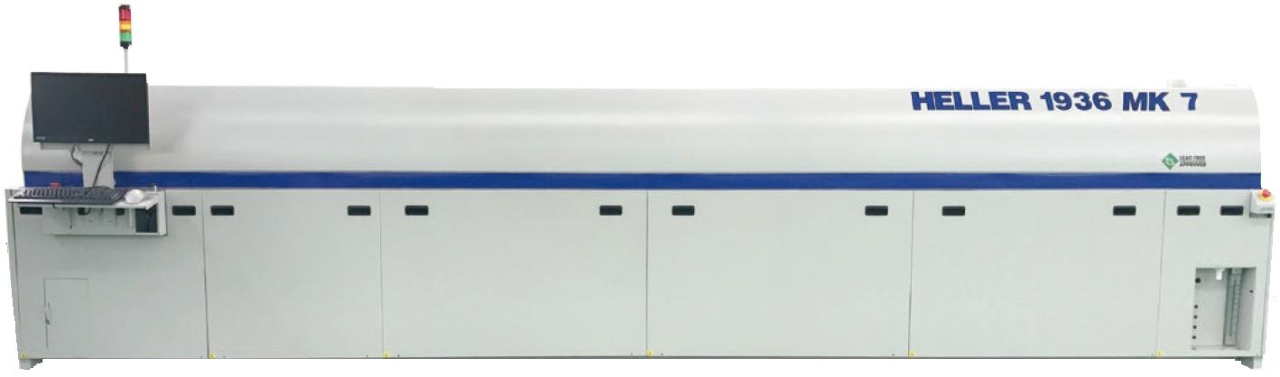 Lò hàn đối lưu Convextion reflow oven MK 7