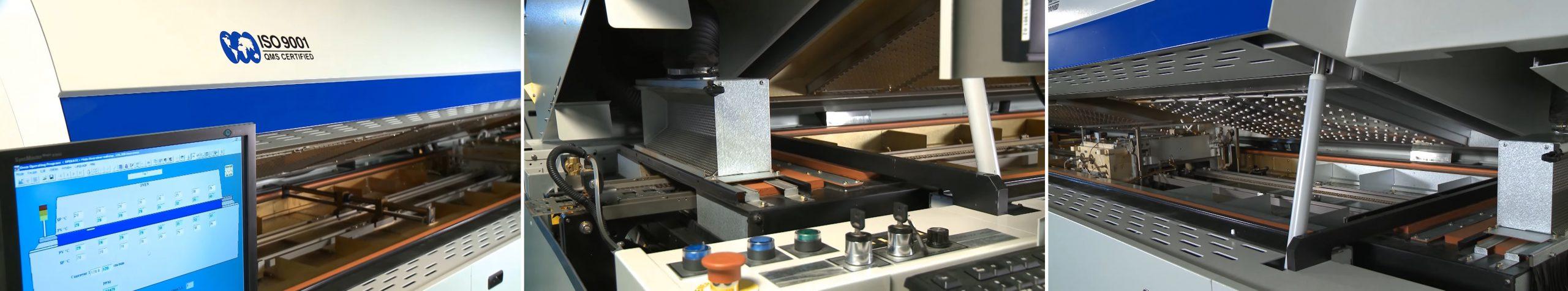 Máy Reflow Oven - MK 5 kiểm tra mạch điện tử hãng Heller