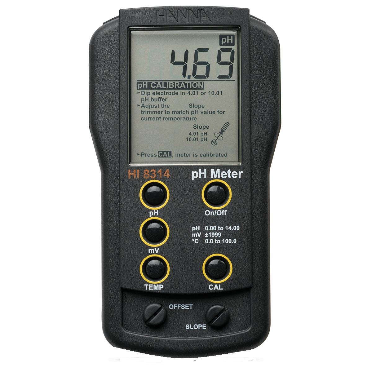 Thiết bị máy đo PH HI 8314