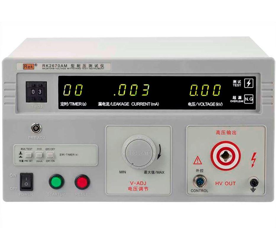 Máy đo điện áp AC RK2670AM – Hipot Withstand Voltage Tester
