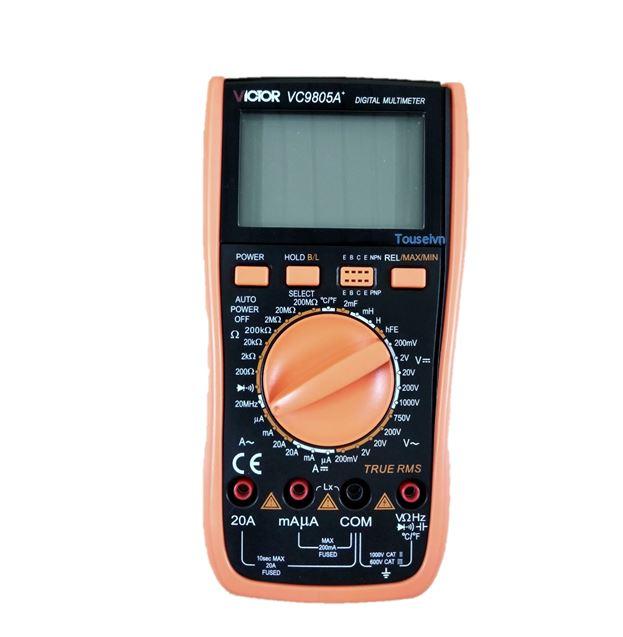 Máy đo điện trở vạn năng Victor VC9801A+