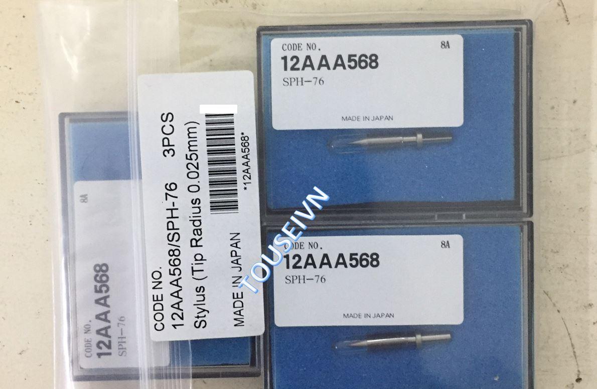 Kim đo - Stylus - 12AAA568 SPH-76 (Tip radius 0.025mm)